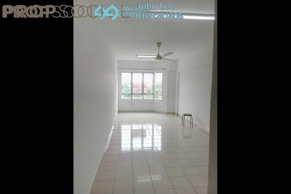 For Rent Condominium at Petaling Indah, Sungai Besi Freehold Semi Furnished 3R/2B 1.2k
