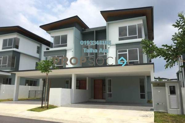 For Sale Semi-Detached at Parkfield Residences @ Tropicana Heights, Kajang Freehold Unfurnished 6R/5B 1.38m
