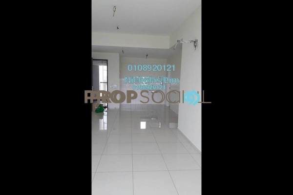 For Sale Condominium at Elevia Residences, Bandar Puchong Utama Freehold Unfurnished 3R/2B 650k