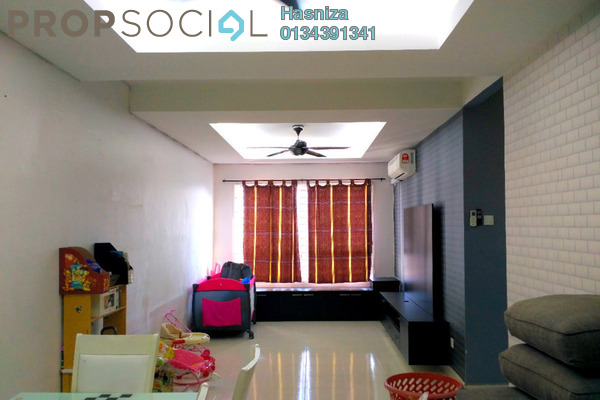 For Sale Condominium at Banjaria Court, Batu Caves Leasehold Semi Furnished 3R/2B 370k