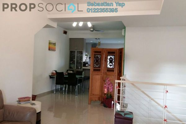 For Sale Townhouse at D'Impian Tropika, Balakong Freehold Semi Furnished 4R/3B 500k
