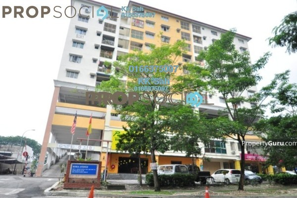 For Rent Apartment at Section 16, Shah Alam Leasehold Fully Furnished 3R/2B 1.3k