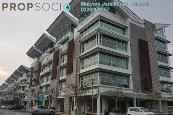 For Rent Shop at Laman Seri, Shah Alam Freehold Semi Furnished 0R/0B 5.5k