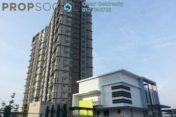 For Sale Condominium at Shaftsbury Square, Cyberjaya Freehold Semi Furnished 1R/1B 350k