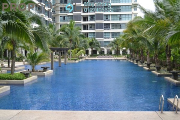 For Rent Condominium at Saujana Residency, Subang Jaya Freehold Fully Furnished 2R/2B 3k