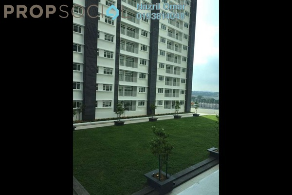 For Rent Condominium at Section 22, Shah Alam Freehold Semi Furnished 3R/3B 1.6k
