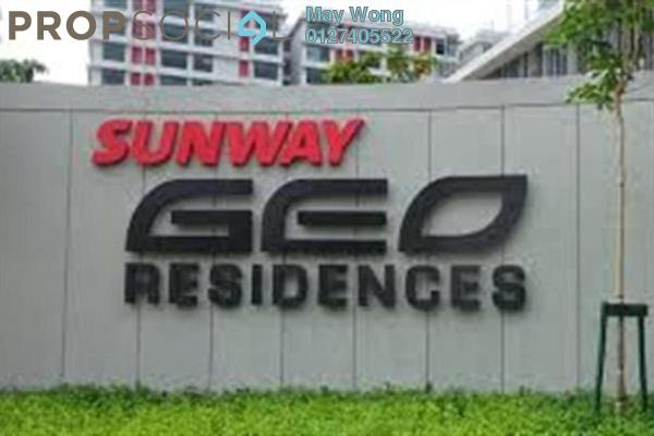 For Rent Condominium at Sunway GEO Retail, Bandar Sunway Freehold Fully Furnished 2R/2B 3.15k