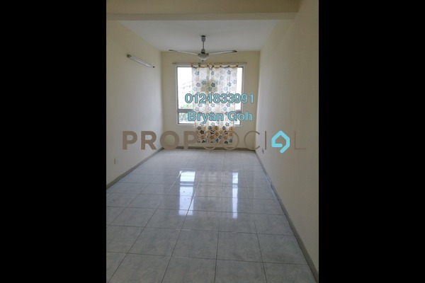 For Sale Apartment at Taman Kheng Tian, Jelutong Freehold Unfurnished 3R/1B 360k