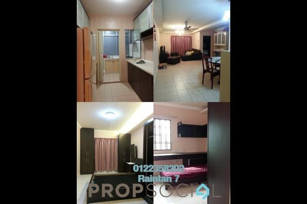 For Rent Condominium at Amadesa, Desa Petaling Freehold Semi Furnished 3R/2B 1.45k