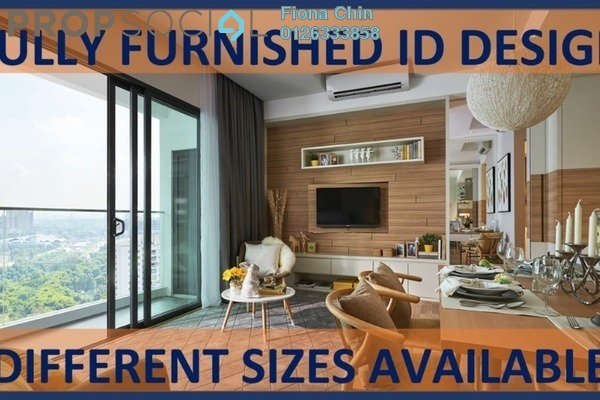 For Rent Condominium at The Potpourri, Ara Damansara Freehold Fully Furnished 1R/1B 2.6k