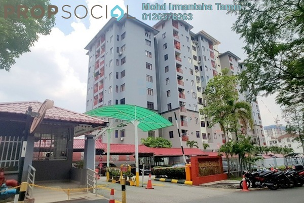 For Sale Condominium at Shamelin Bestari, Cheras Leasehold Fully Furnished 3R/2B 455k