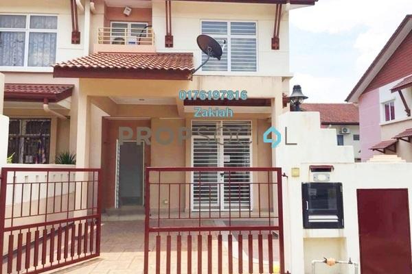 For Sale Terrace at Alam Nusantara, Setia Alam Freehold Semi Furnished 4R/3B 700k