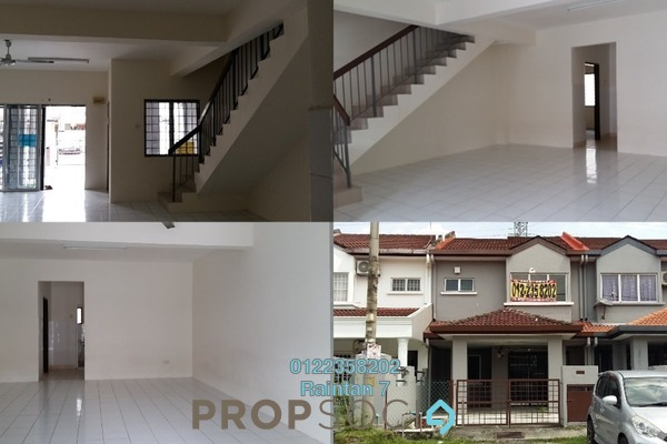 For Sale Terrace at Taman Puncak Jalil, Bandar Putra Permai Freehold Unfurnished 4R/3B 550k
