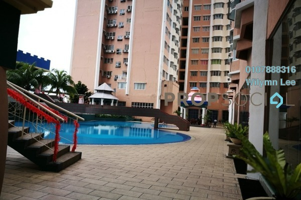 For Rent Condominium at The 19 USJ City Mall, UEP Subang Jaya Freehold Semi Furnished 3R/2B 1.29k