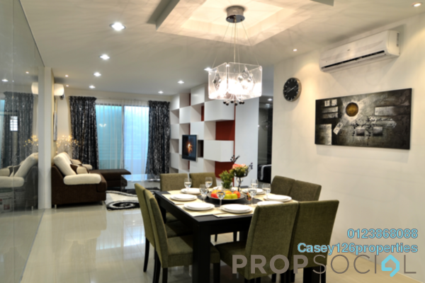 For Sale Condominium at Bangi Avenue, Kajang Freehold Semi Furnished 3R/3B 280k