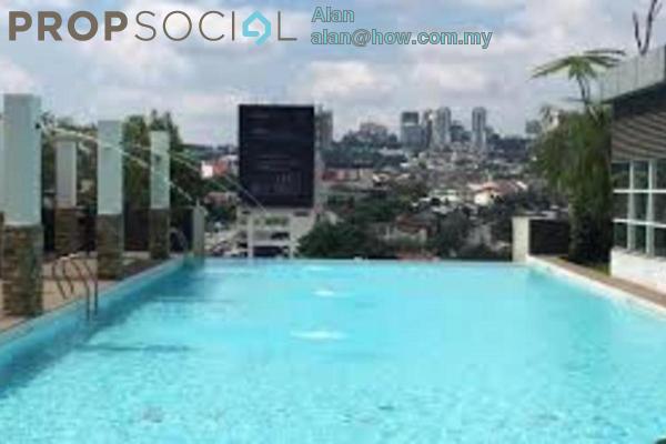 For Sale Condominium at Gaya Bangsar, Bangsar Freehold Fully Furnished 0R/1B 700k