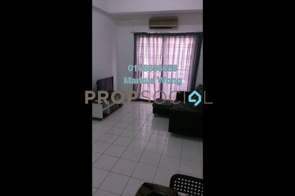 For Rent Apartment at Jalil Damai, Bukit Jalil Freehold Fully Furnished 3R/2B 1.35k