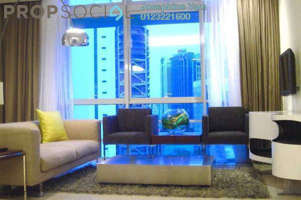 For Rent Condominium at One Residency, Bukit Ceylon Freehold Fully Furnished 1R/1B 3.2k