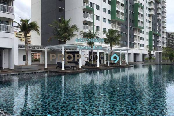 For Sale Serviced Residence at Alam Sanjung, Shah Alam Freehold Semi Furnished 3R/2B 428k