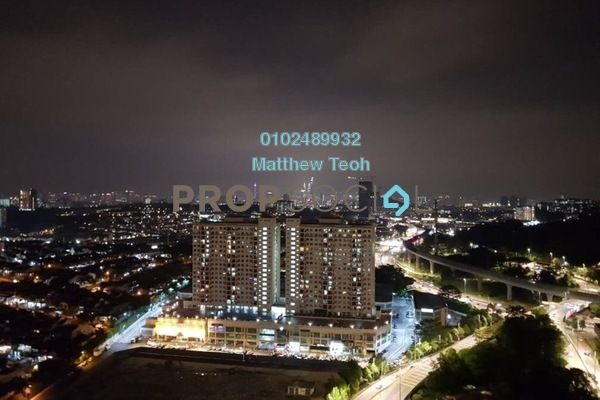 For Rent Condominium at Maxim Residences, Cheras Freehold Semi Furnished 3R/2B 1.4k