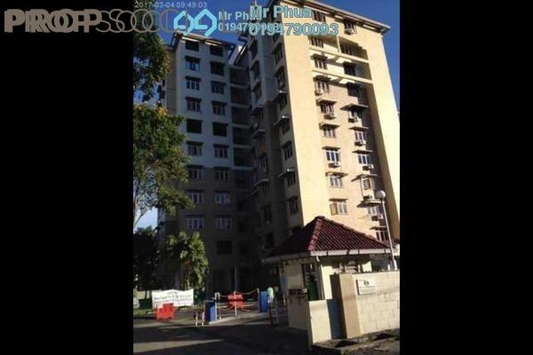 For Rent Condominium at Mahsuri Apartment, Bayan Baru Freehold Fully Furnished 3R/2B 1.1k