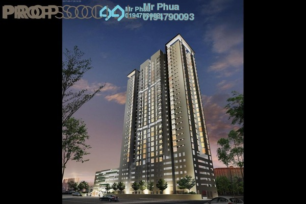 For Sale Condominium at Straits Garden, Jelutong Freehold Fully Furnished 2R/1B 480k