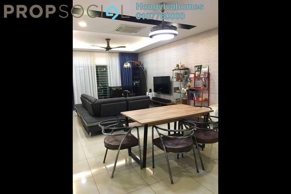 For Sale Condominium at ZetaPark, Setapak Leasehold Fully Furnished 3R/3B 900k