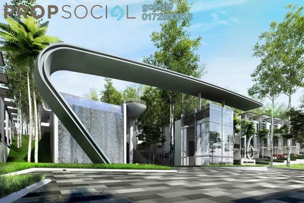 For Sale Condominium at 16 Quartz, Melawati Freehold Semi Furnished 4R/3B 800k