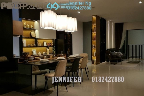 For Sale Condominium at AraTre' Residences, Ara Damansara Freehold Semi Furnished 1R/1B 450k