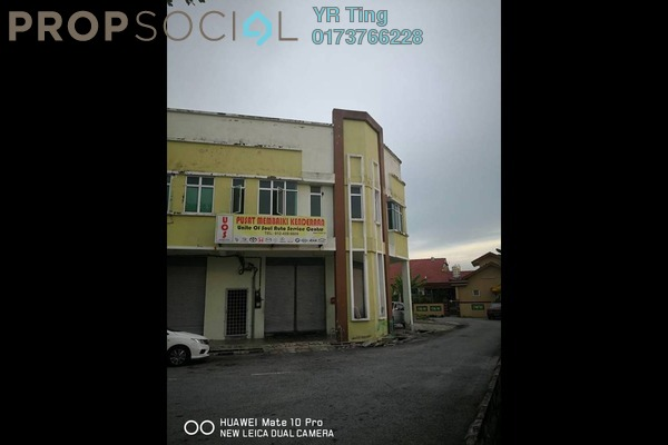 For Rent Shop at Taman Industri Zarina, Alor Gajah Freehold Unfurnished 0R/0B 2.8k