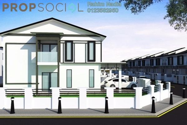 For Sale Terrace at Taman Perepat Indah, Kapar Freehold Unfurnished 4R/3B 374k