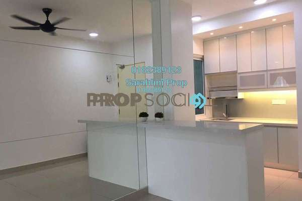 For Rent Condominium at Mercury Serviced Apartment @ Sentul Village, Sentul Freehold Fully Furnished 3R/2B 2.3k