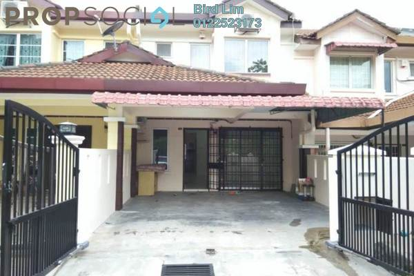 For Sale Terrace at Taman Puncak Jalil, Bandar Putra Permai Freehold Semi Furnished 4R/3B 578k