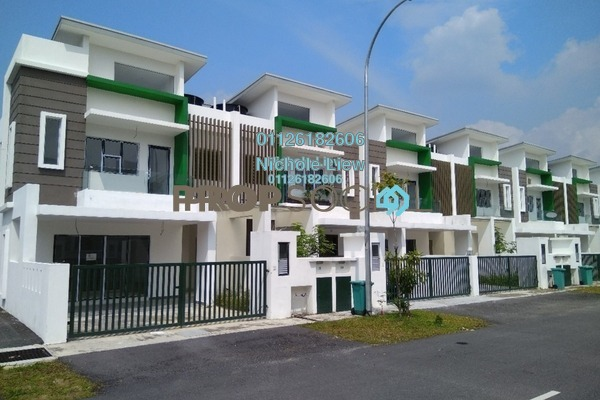 For Sale Superlink at Setia EcoHill, Semenyih Leasehold Unfurnished 4R/4B 573k
