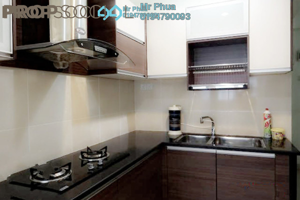For Rent Condominium at Sea View Tower, Butterworth Freehold Fully Furnished 1R/1B 1.05k