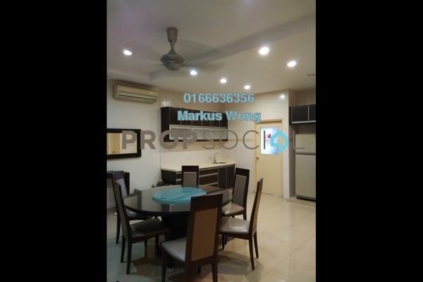 For Rent Terrace at Jalil Sutera, Bukit Jalil Freehold Semi Furnished 5R/4B 3k