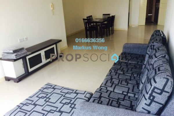 For Rent Condominium at Savanna 1, Bukit Jalil Freehold Fully Furnished 4R/2B 2.4k