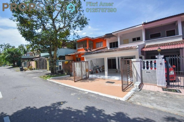 For Sale Terrace at Taman Rakan, Bandar Sungai Long Freehold Semi Furnished 4R/3B 530k
