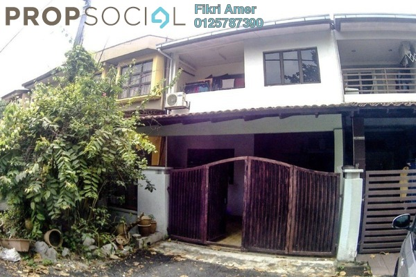 For Sale Terrace at Taman Nirwana, Ampang Freehold Semi Furnished 4R/3B 619k