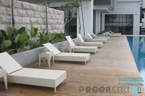 For Rent Condominium at Lumina Kiara, Mont Kiara Freehold Semi Furnished 4R/4B 7k
