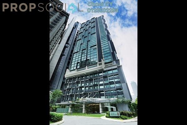 For Rent Condominium at Binjai 8, KLCC Freehold Semi Furnished 1R/1B 3k