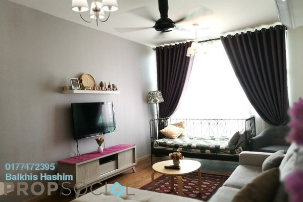 For Rent Serviced Residence at Vista Alam, Shah Alam Freehold Fully Furnished 1R/1B 1.8k