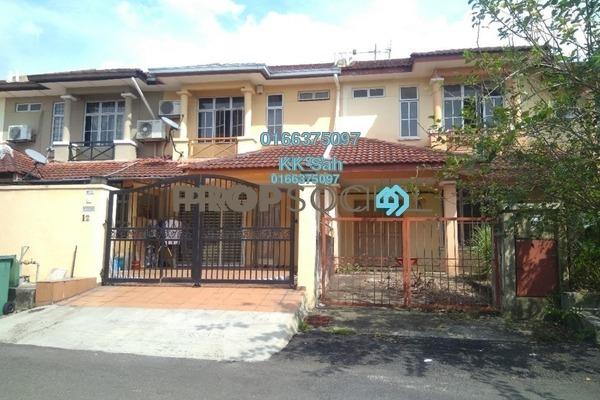 For Sale Terrace at Section 6, Bandar Mahkota Cheras Freehold Unfurnished 4R/3B 510k