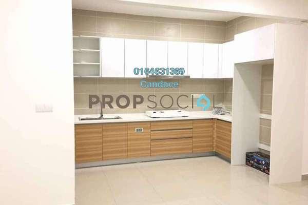 For Rent Apartment at V-Residensi 2, Shah Alam Freehold Semi Furnished 3R/2B 1.4k