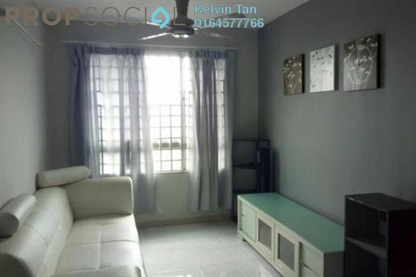 For Rent Apartment at Taman Kheng Tian, Jelutong Freehold Fully Furnished 3R/2B 1.1k