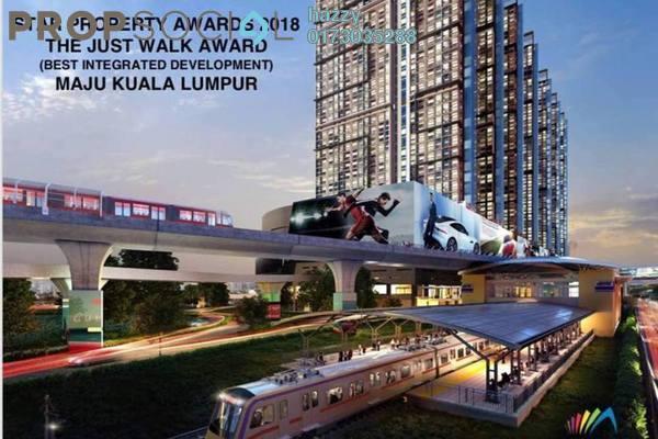 For Sale Duplex at Maju Kuala Lumpur, Sungai Besi Leasehold Semi Furnished 3R/2B 618k