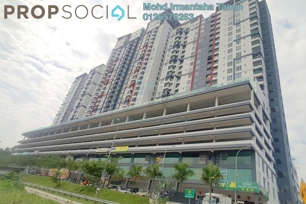For Sale Condominium at Silk Residence, Bandar Tun Hussein Onn Freehold Semi Furnished 3R/2B 365k