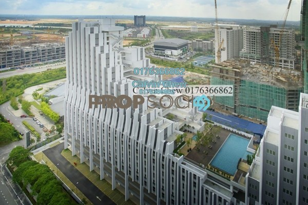 For Sale SoHo/Studio at Paragon, Cyberjaya Freehold Unfurnished 1R/1B 236k