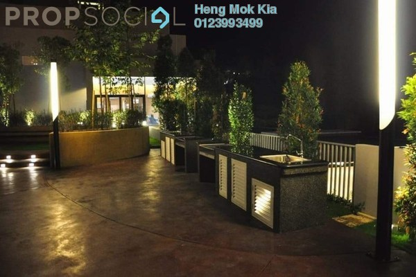 For Rent Condominium at Sutera Pines, Bandar Sungai Long Freehold Semi Furnished 3R/2B 1.8k