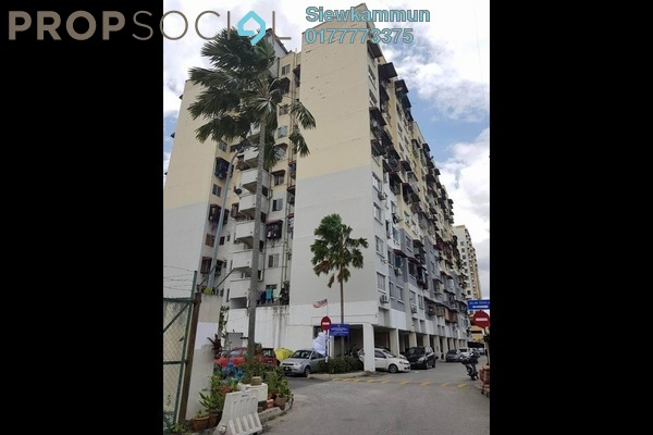For Sale Apartment at Seri Aman Heights, Sungai Buloh Freehold Semi Furnished 3R/1B 300k